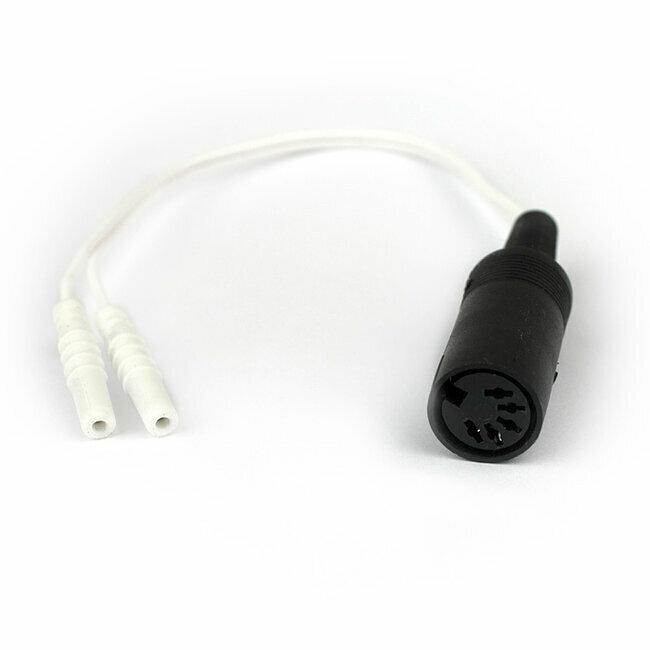 Cordon adaptateur pour sonde p rin ale din banane 2 mm - Paypal remboursement frais de port ...