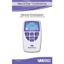 Manuel d'utilisation Neurotrac Continence