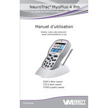 Manuel d'utilisation Neurotrac MyoPlus 2 et 4 Pro
