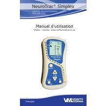 Manuel d'utilisation Neurotrac Simplex