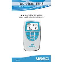 Manuel d'utilisation Neurotrac TENS