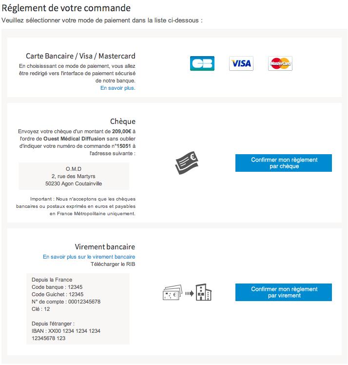 Comment finaliser une commande sur neurotracshop - Paypal paiement differe ...